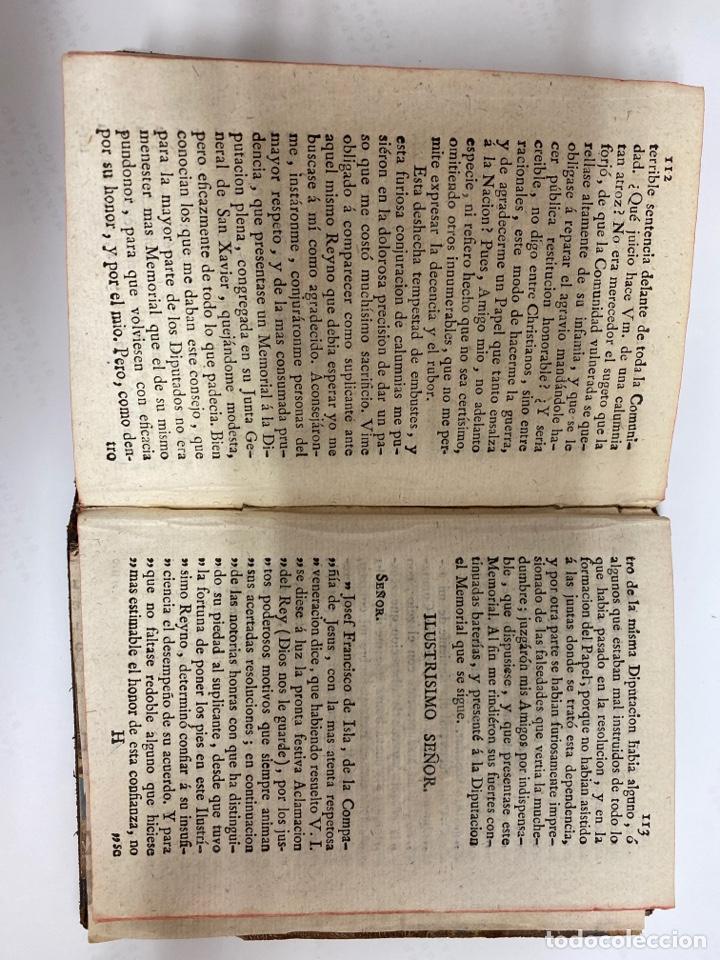 Libros antiguos: Libro antiguo Triunfo del amor y de la lealtad, día grande de Navarra...José Francisco de isla 1746 - Foto 5 - 244383100