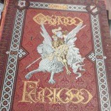 Libros antiguos: 1885 - ORLANDO FURIOSO DE ARIOSTO - LAMINAS DE DORE TOMO 1. Lote 244399990
