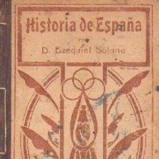 Libros antiguos: HISTORIA DE ESPAÑA. A-ESC-1792. Lote 244403040