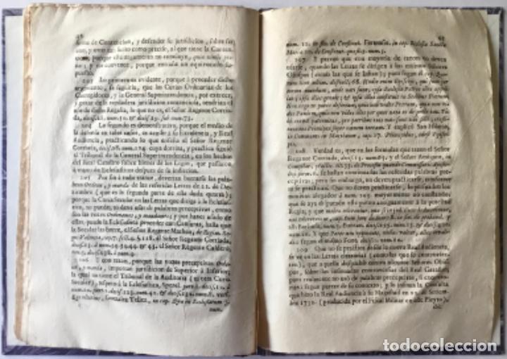 Libros antiguos: POR LA CURIA ORDINARIA ECLESIASTICA DE LA CIUDAD DE VIQUE, EN RESPUESTA A LAS DUDAS, QUE EN EL... - Foto 5 - 244480035