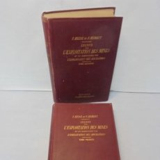 Libros antiguos: F. HEISE ET F. HERBST. LECONS SUR L´EXPLOITATION DES MINES. TOMO I Y II. 1911-1912.. Lote 244609835