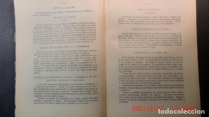 Libros antiguos: EL ARTE CULINARIO 2400 PLATOS-JOSE SOLE- 1935-NUEVO PRECINTADO-ENVIO GRATUITO - Foto 4 - 244672135