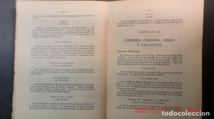 Libros antiguos: EL ARTE CULINARIO 2400 PLATOS-JOSE SOLE- 1935-NUEVO PRECINTADO-ENVIO GRATUITO - Foto 5 - 244672135