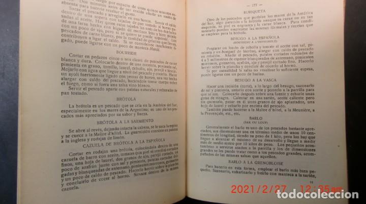 Libros antiguos: EL ARTE CULINARIO 2400 PLATOS-JOSE SOLE- 1935-NUEVO PRECINTADO-ENVIO GRATUITO - Foto 6 - 244672135