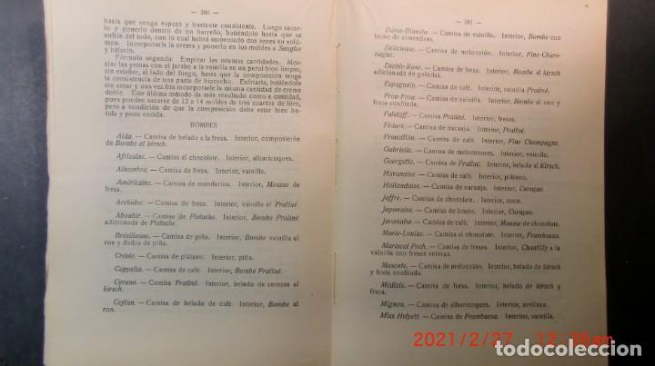 Libros antiguos: EL ARTE CULINARIO 2400 PLATOS-JOSE SOLE- 1935-NUEVO PRECINTADO-ENVIO GRATUITO - Foto 7 - 244672135