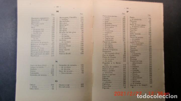Libros antiguos: EL ARTE CULINARIO 2400 PLATOS-JOSE SOLE- 1935-NUEVO PRECINTADO-ENVIO GRATUITO - Foto 9 - 244672135