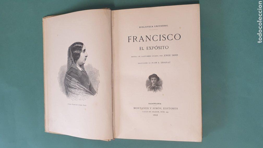 Libros antiguos: Francisco El Exposito Montaner y Simón, Ilustrado por A. RABAUDI Editores 1912 - Foto 4 - 244678670