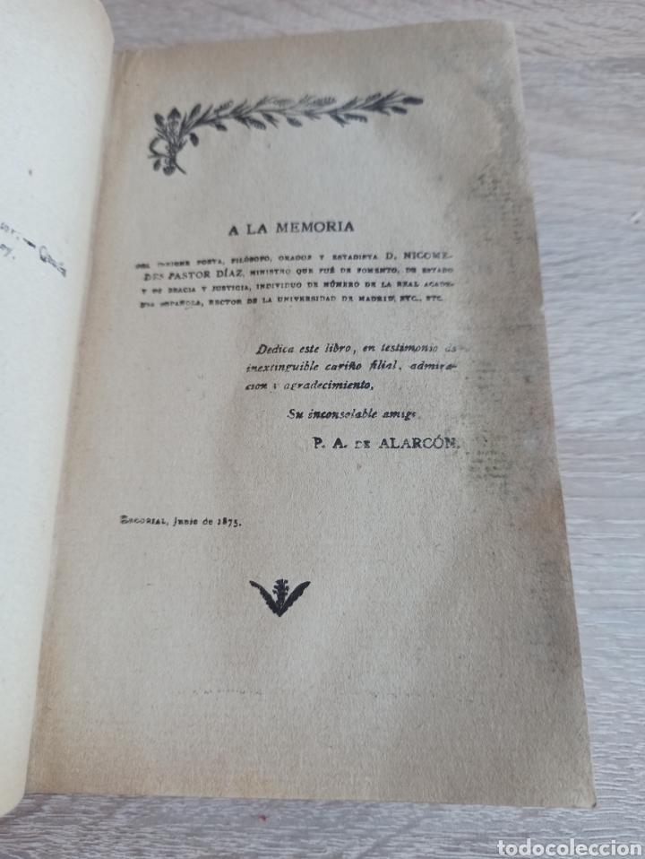 Libros antiguos: Novela El Escándalo por P. Pedro A. De Alarcón Vigésimoquinta Edición 1920 - Foto 3 - 244708950