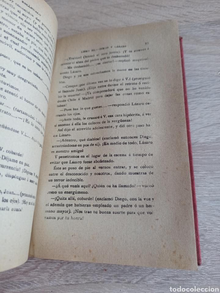 Libros antiguos: Novela El Escándalo por P. Pedro A. De Alarcón Vigésimoquinta Edición 1920 - Foto 6 - 244708950