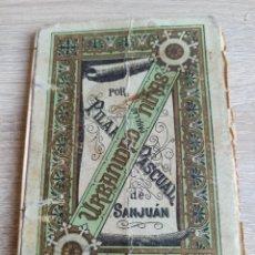 Libros antiguos: URBANIDAD PARA LAS NIÑAS POR PILAR PASCUAL DE SANJUÁN HIJOS DE PALUZIE, EDITORES 1916. Lote 244709925