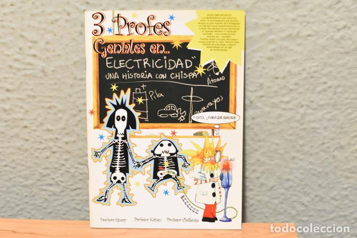 3 PROFES GENIALES EN ELECTRICIDAD-LA ELECTRICIDAD EN 4 IDIOMAS- (Libros Antiguos, Raros y Curiosos - Literatura Infantil y Juvenil - Otros)