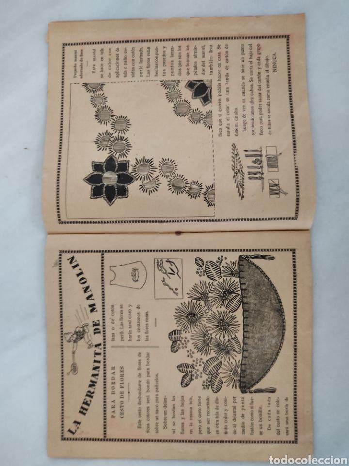 Libros antiguos: Manolín revista semanal 1929 10cts - Foto 7 - 244822375