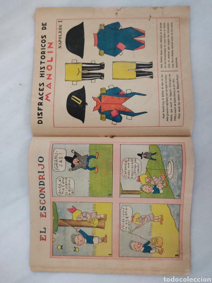 Libros antiguos: Manolín revista semanal 1929 10cts - Foto 8 - 244822375