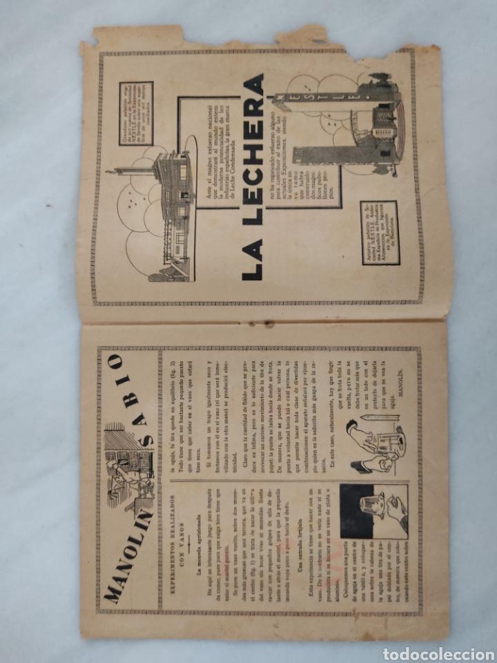 Libros antiguos: Manolín revista semanal 1929 10cts - Foto 9 - 244822375