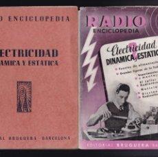 Libros antiguos: RADIO ENCICLOPEDIA - Nº 2 / 1944 - 1ª EDICION - EDITORIAL BRUGUERA. Lote 244833970
