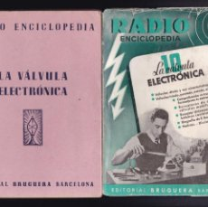 Libros antiguos: RADIO ENCICLOPEDIA - Nº 10 / 1944 - 1ª EDICION - EDITORIAL BRUGUERA. Lote 244834135