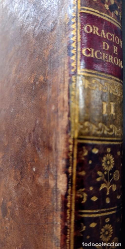 Libros antiguos: CICERÓN. DISCURSOS ORACIONES ESCOGIDAS. LATÍN-ESPAÑOL. 1783, IMPRENTA DE SANCHA - Foto 3 - 244855675