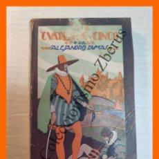 Libros antiguos: LOS CUARENTA Y CINCO, TOMO I - ALEJANDRO DUMAS (PADRE). Lote 244872605