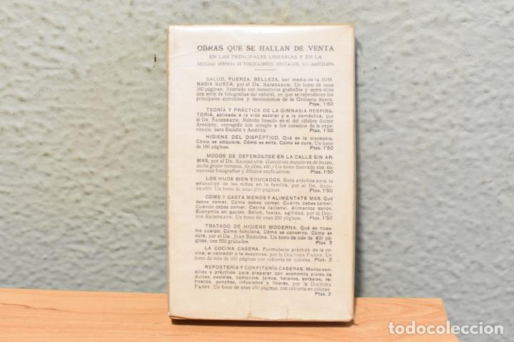 Libros antiguos: COMO DEBO COMPORTARME EN SOCIEDAD-MANUAL DE PRACTICAS SOCIALES DE LA DOCTORA FANNY - Foto 2 - 244877950