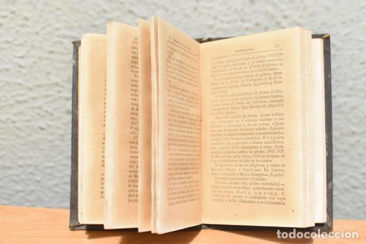 Libros antiguos: MANUAL DE MINERALOGÍA-JUAN JOSÉ MUÑOZ DE MADARIAGA- 1880 - Foto 3 - 244880395
