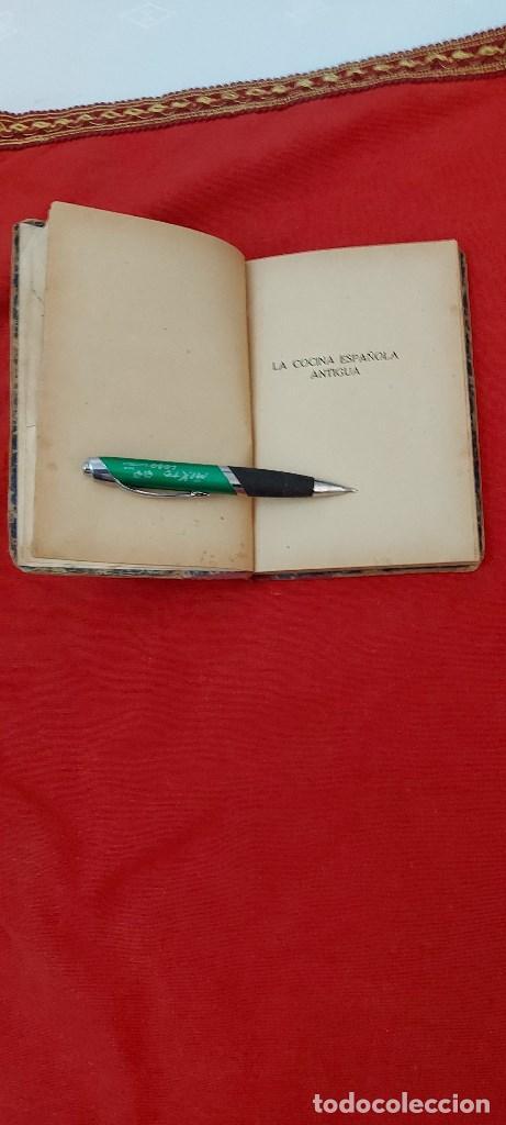Libros antiguos: LA COCINA ESPAÑOLA ANTIGUA-CONDESA DE PARDO BAZÁN-1913-1920 - Foto 4 - 244899535