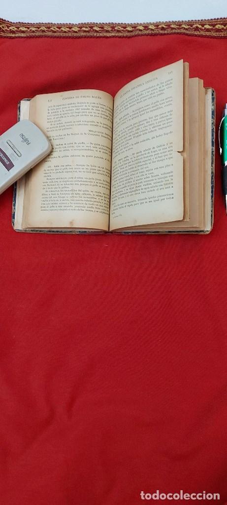 Libros antiguos: LA COCINA ESPAÑOLA ANTIGUA-CONDESA DE PARDO BAZÁN-1913-1920 - Foto 5 - 244899535