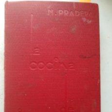 Livros antigos: LA COCINA DE NICOLASA. RIVADENEYRA S.A. MADRID 1933 . PRIMERA EDICIÓN.. Lote 244903085