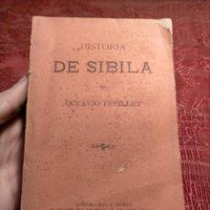 Libros antiguos: ANTIGUO LIBRO DE OCTAVIO FEUILLET HISTORIA DE SIBILA ED. DON F. BUENO 1893. Lote 244920895