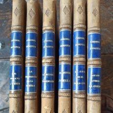 Libros antiguos: SEIS OBRAS DEL CORONEL IGNOTUS (JOSÉ DE ELOLA). Lote 245008285