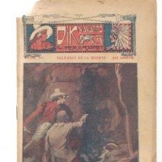 Libros antiguos: FOLLETÍN. DIK NAVARRO. EL TERROR DE LA PRADERA. Nº 52. MORIR CON GLORIA. (AP1/C4). Lote 245050230