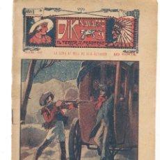 Libros antiguos: FOLLETÍN. DIK NAVARRO. EL TERROR DE LA PRADERA. Nº 56. LA LUNA DE MIEL DE DIK NAVARRO. (AP1/C4). Lote 245051075