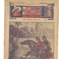Libros antiguos: FOLLETÍN. DIK NAVARRO. EL TERROR DE LA PRADERA. Nº 57. OTRA EMPRESA DE DICK. (AP1/C4). Lote 245051635