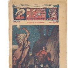 Libros antiguos: FOLLETÍN. DIK NAVARRO. EL TERROR DE LA PRADERA. Nº 58. EL CASTIGO DE UNA INFAMIA. (AP1/C4). Lote 245052235