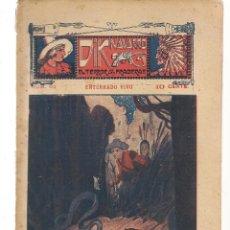 Libros antiguos: FOLLETÍN. DIK NAVARRO. EL TERROR DE LA PRADERA. Nº 62. ENTERRADO VIVO. (AP1/C4). Lote 245053205