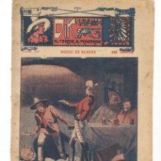 Libros antiguos: FOLLETÍN. DIK NAVARRO. EL TERROR DE LA PRADERA. Nº 63. NOCHE DE SANGRE. (AP1/C4). Lote 245054030