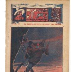 Libros antiguos: FOLLETÍN. DIK NAVARRO. EL TERROR DE LA PRADERA. Nº 66. LA CABEZA PUESTA A PRECIO. (AP1/C4). Lote 245054265