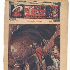 Libros antiguos: FOLLETÍN. DIK NAVARRO. EL TERROR DE LA PRADERA. Nº 67. TRAICIÓN INFAME. (AP1/C4). Lote 245054400
