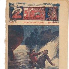Libros antiguos: FOLLETÍN. DIK NAVARRO. EL TERROR DE LA PRADERA. Nº 68. COCIDO EN UNA CALDERA. (AP1/C4). Lote 245054585