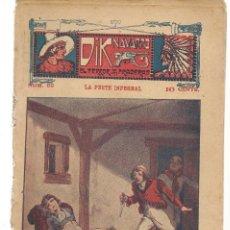 Libros antiguos: FOLLETÍN. DIK NAVARRO. EL TERROR DE LA PRADERA. Nº 69. LA PESTE INFERNAL. (AP1/C4). Lote 245054750