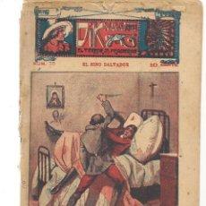 Libros antiguos: FOLLETÍN. DIK NAVARRO. EL TERROR DE LA PRADERA. Nº 75. EL NIÑO SALVADOR. (AP1/C4). Lote 245055810