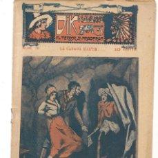 Libros antiguos: FOLLETÍN. DIK NAVARRO. EL TERROR DE LA PRADERA. Nº 78. LA CASADA MARTIR. (AP1/C4). Lote 245057250
