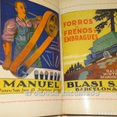 Libros antiguos: ESPAÑA. SUS EXPOSICIONES. BARCELONA-SEVILLA. 1929-30. 256 PÁG. MUY ILUSTRADAS. CON PUBLICIDAD. Lote 245171505