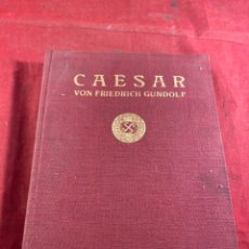 Libros antiguos: CAESAR VON FRIEDRICH GUNDOLF. Lote 245197815
