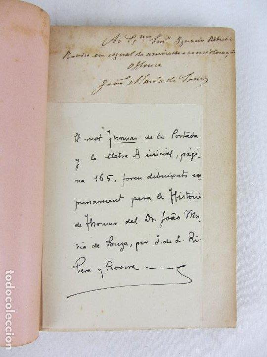 Libros antiguos: Noticia descriptiva e historica de cidade de Thomar - J.M.Sousa - Thomar 1903 - Con Ex libris - Foto 5 - 245210195