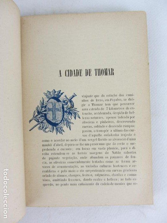 Libros antiguos: Noticia descriptiva e historica de cidade de Thomar - J.M.Sousa - Thomar 1903 - Con Ex libris - Foto 7 - 245210195