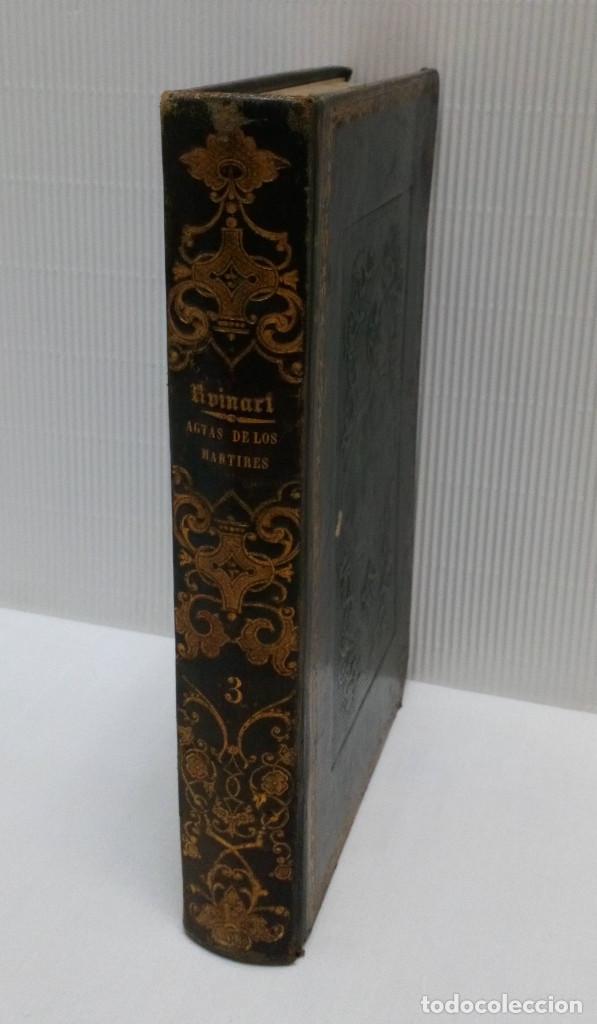 LAS ACTAS VERDADERAS DE LOS MÁRTIRES. CON 60 GRABADOS. TOMO III. 1844 (Libros Antiguos, Raros y Curiosos - Historia - Otros)