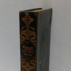 Libros antiguos: LAS ACTAS VERDADERAS DE LOS MÁRTIRES. CON 60 GRABADOS. TOMO III. 1844. Lote 245263100