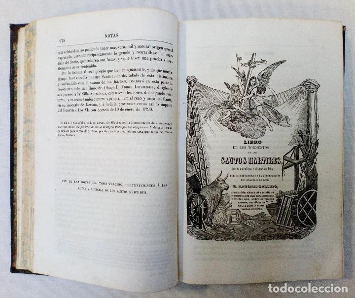 Libros antiguos: LAS ACTAS VERDADERAS DE LOS MÁRTIRES. CON 60 GRABADOS. TOMO III. 1844 - Foto 7 - 245263100