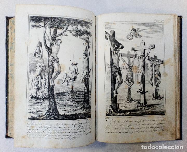 Libros antiguos: LAS ACTAS VERDADERAS DE LOS MÁRTIRES. CON 60 GRABADOS. TOMO III. 1844 - Foto 8 - 245263100