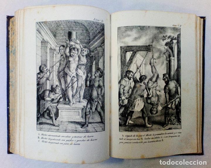 Libros antiguos: LAS ACTAS VERDADERAS DE LOS MÁRTIRES. CON 60 GRABADOS. TOMO III. 1844 - Foto 10 - 245263100